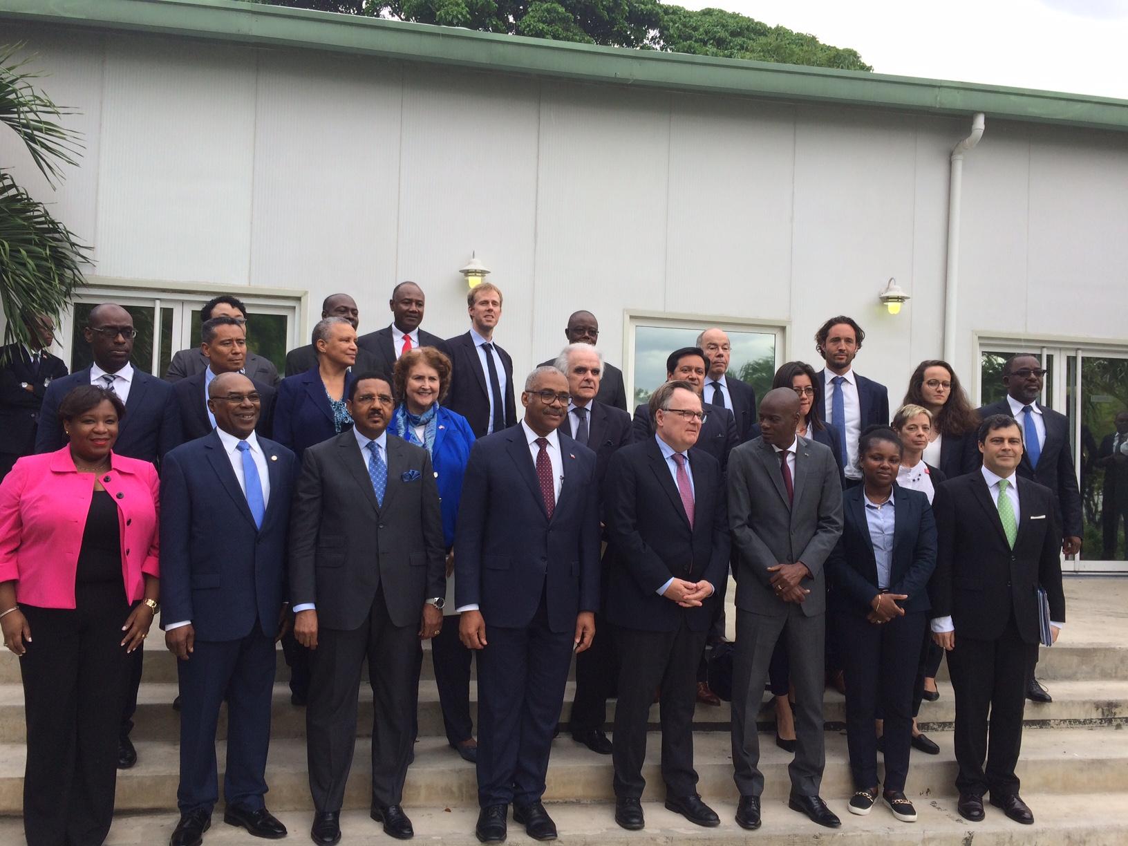 Représentants du 17 états membres