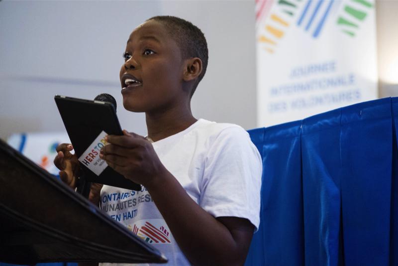 Journée Internationale de la Jeunesse 2018 en Haïti