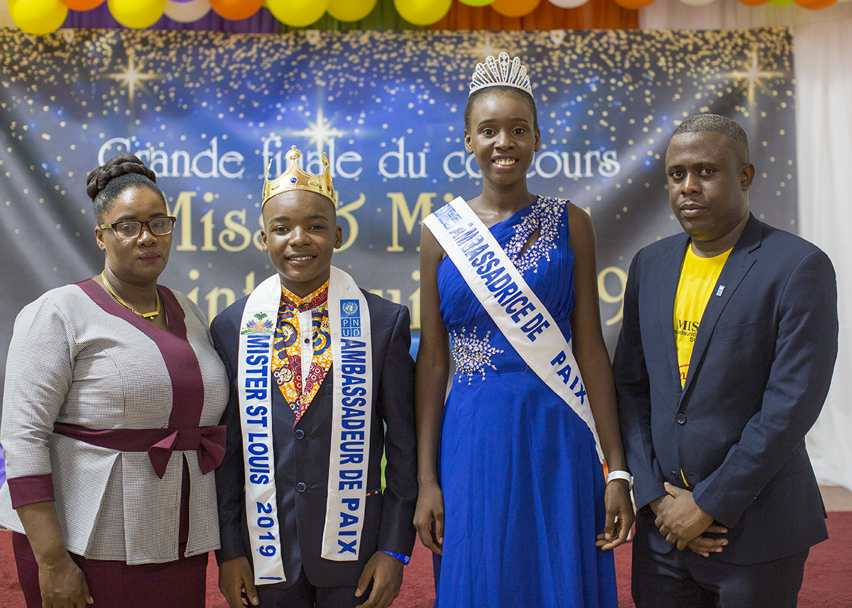 De jeunes leaders de Jérémie s'engagent pour la paix