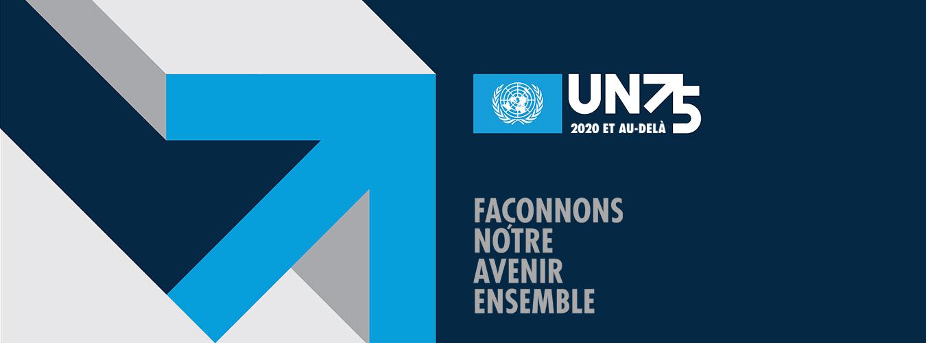 branding cree dans le cadre de la campagne UN75