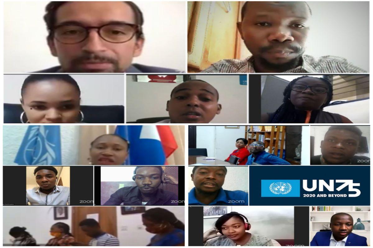 Dialogue UN75-Mois de la Jeunesse