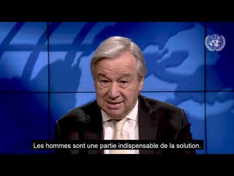 Message du Secrétaire général des Nations unies Antonio Guterres à l'occasion de la célébration de la journée internationale des femmes-8 mars 2021